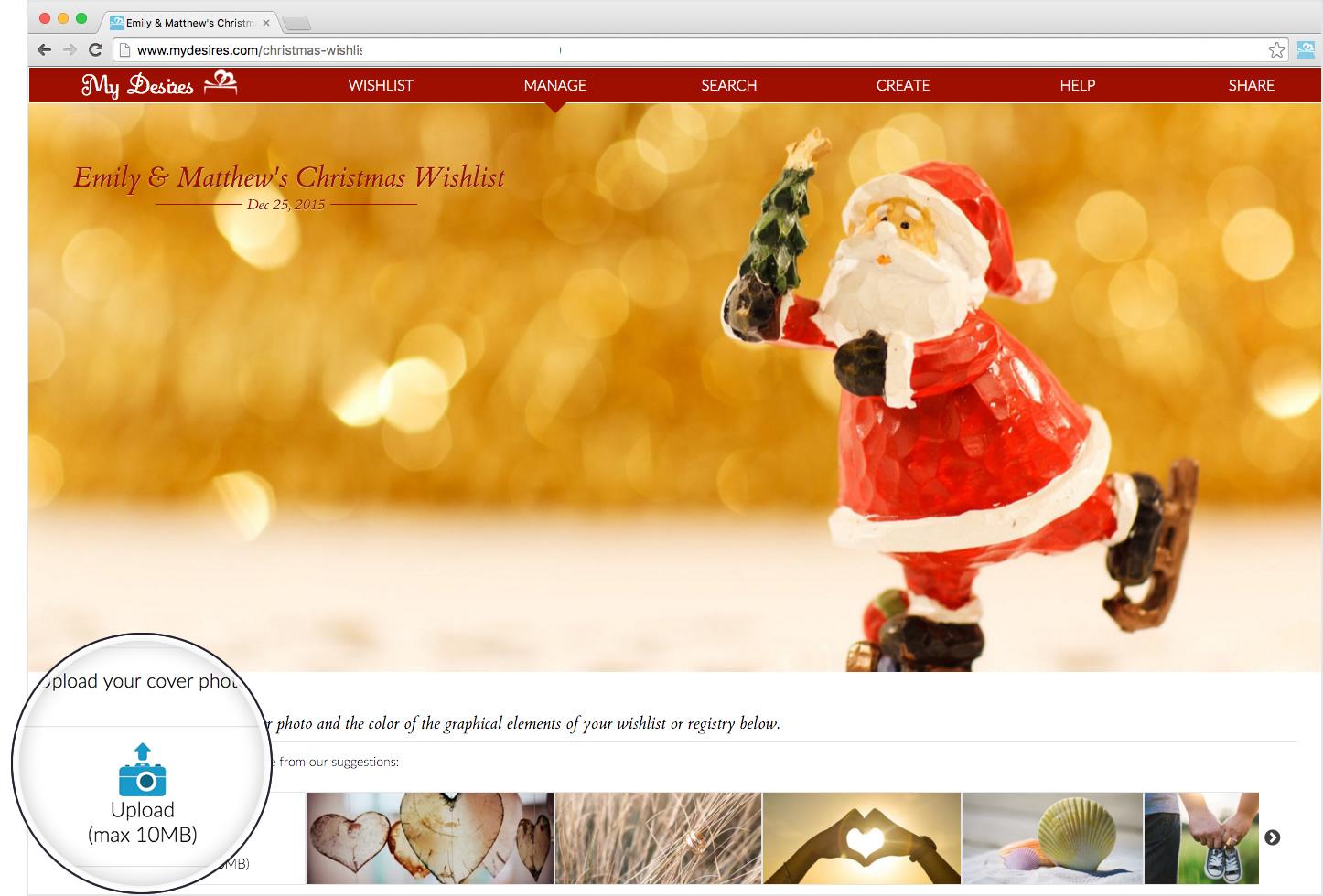 Online Christmas Wish List My Desires – Sample Christmas Wish List